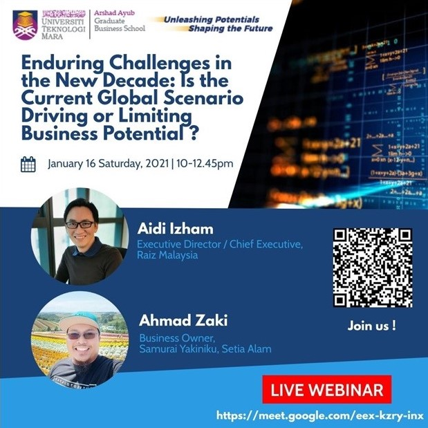 Webinar: Enduring Challenges in the New Decade: Is the Current Global Scenario Driving or Limiting the Business Potential